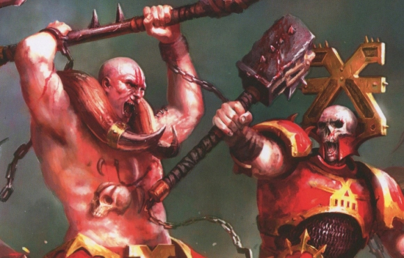 Khorne on the Khover