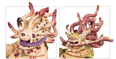 Beasts of Nurgle Faces