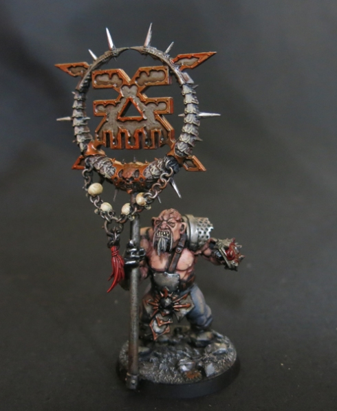 Convert Or Die Ogryn with Banner (2)